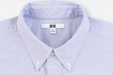 「ユニクロの裾が長いオックスフォードシャツを着丈直しリフォームに出した」のアイキャッチ画像