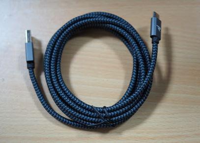 「柔らかく折り曲げに強い上になんと無条件永久保証のRampow USB Type C ケーブル購入レビュー」のアイキャッチ画像
