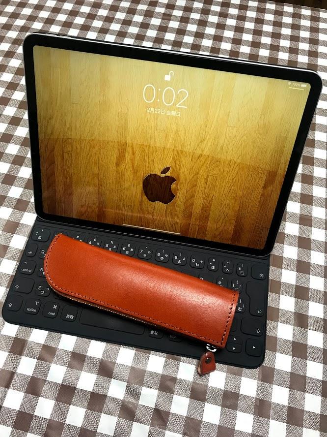 「栃木レザーのペンケースがApple Pencilの保護にちょうどいい」のアイキャッチ画像