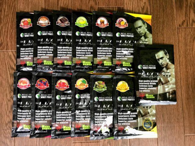 「プロテインの味に飽きた、初めて飲む方に!13種類の味パックを購入した」のアイキャッチ画像