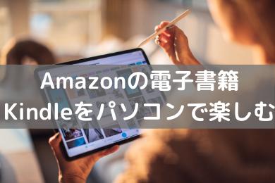 「Kindleの本はインターネットを繋いだパソコンで閲覧できる【スマホ・タブレット不要】」のアイキャッチ画像