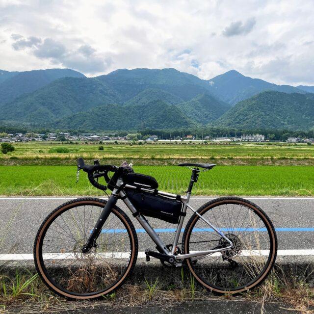 グラベルバイクでビワイチ200km走ってきた
